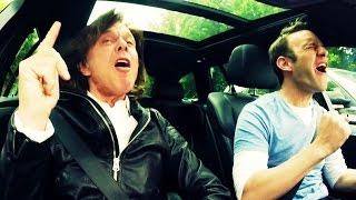 Jürgen Drews und Peter Imhof - Ein Bett Im Kornfeld - Karaoke Taxi #1