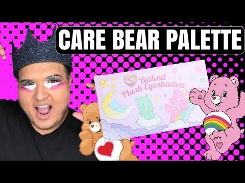 CARE BEAR MAKEUP PALETTE REVIEW