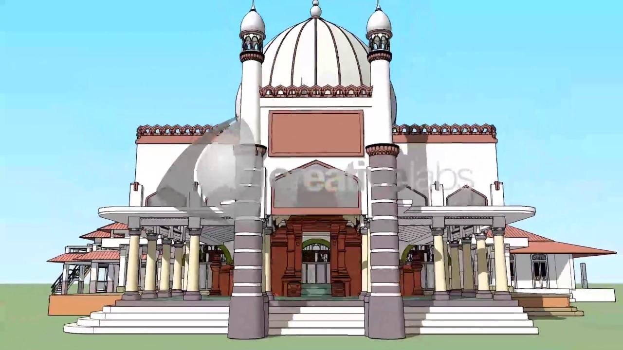 Animasi Masjid Al Aqsha Menara Kudus Youtube