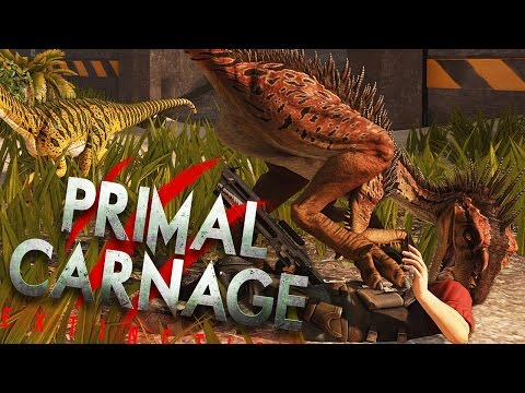 Primal Carnage Extinction - WORST FAILS EVER (Funny Moments Gameplay)