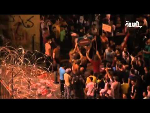 المتظاهرون يخلون وسط بيروت والأمن يعتقل مشاغبين