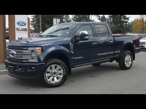 2019 Ford F-350 Platinum FX4 Ultimate V8 Diesel SuperCrew review| Island Ford