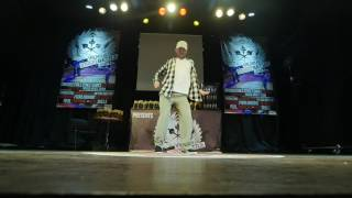 Popping 1vs1 Preselections Inox ESP  @Vilnius Street Battle 2017