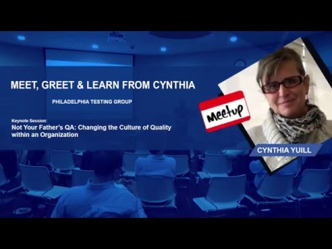 Changing the Culture of Software Quality withing an Organization:Gallop Meetup -Apr 2016