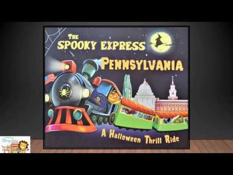 Spooky Express Pennsylvania! Halloween!! Read Aloud Story Time!