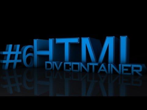 HTML Tutorial #6 - Div Container || Deutsch