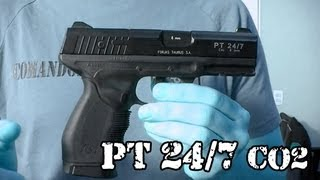 Vendo Airsoft - Pistola PT 24/7 Taurus CO2 (Gás) - Legalizada Brasil