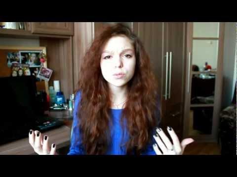 Прическа для кудрявых волос/Hairstyle for curly hair