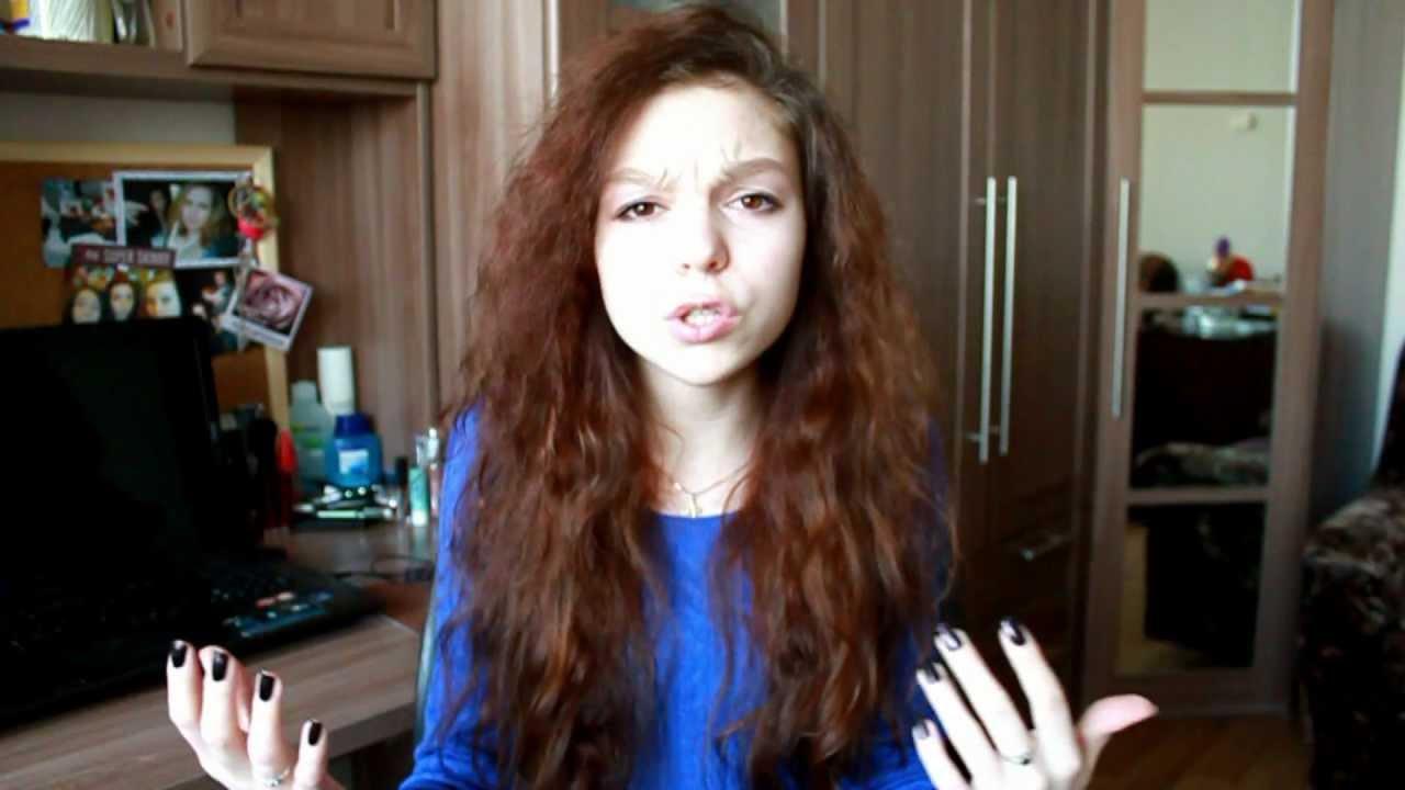 Как укладывать кудрявые пушистые волосы