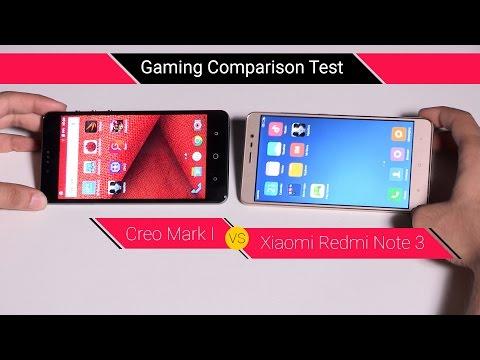 Compare Xiaomi Redmi Note 3 vs Creo Mark 1 for Gaming | Digit.in