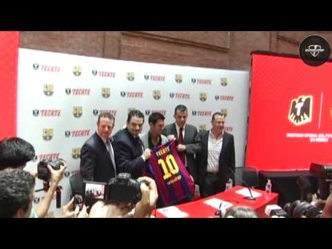 Barcelona ratificó acuerdo con Tecate