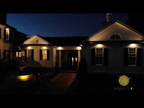 Nightvision Outdoor Lighting Atlanta Ga Drone Series Highlight Reel 01