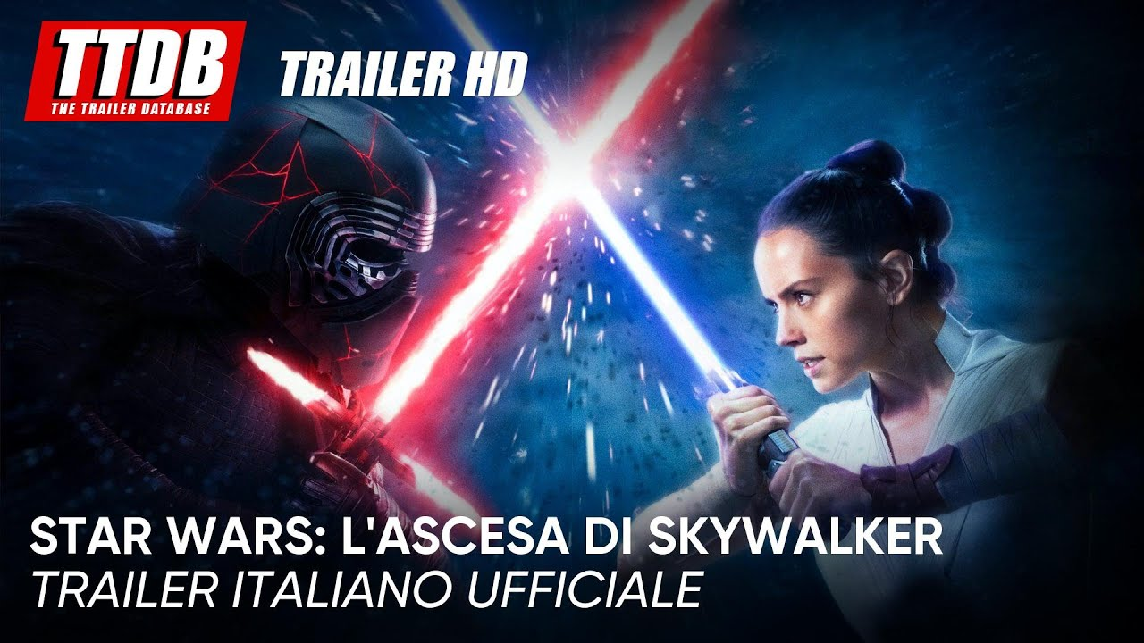 Star Wars: L'ascesa di Skywalker | Trailer Italiano Ufficiale