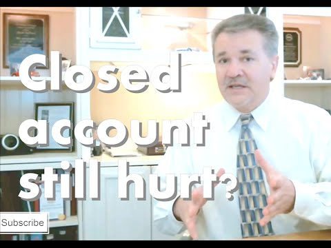 Will Closed Credit Card Hurt My Credit Score