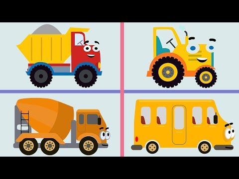 Поезда машинки мультфильм