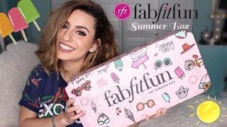 FabFitFun Summer Box Unboxing!!