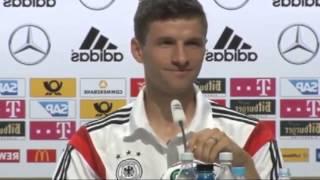Thomas Müller disst RTL-Reporter auf Pressekonferenz thumbnail