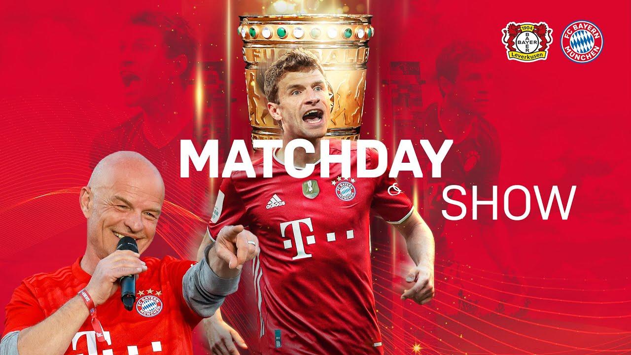 #B04FCB - FC Bayern Matchday Show zum DFB-Pokalfinale mit Stephan Lehmann - Pack ma's