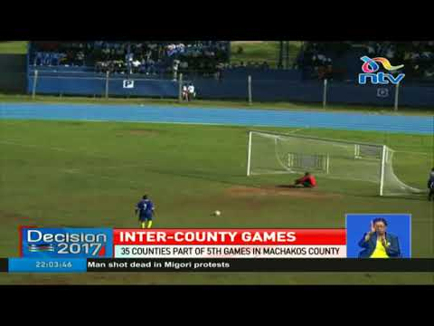 35 counties take part in 5th inter-county games in Machakos County