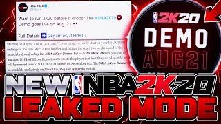 NBA 2K20 NEW DEMO MODE REVEALED! PLAY MULTIPLE BEST BUILDS, NBA 2K20 MYCAREER & PARK EARLY