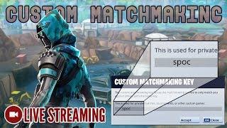 🔴 Custom Matchmaking | Code: spoc [Fortnite] LIVE