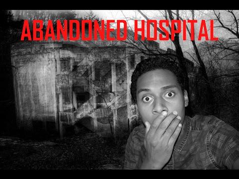 EXPLORING AN ABANDONED HOSPITAL AT NIGHT!!!