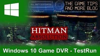 Game DVR Settings Comparison, High vs Standard - Hitman: Absolution Benchmark [2K HD]