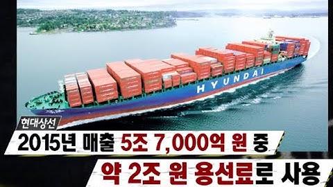 엄청난 용선료(임대료) 해운업체, 무조건 망한다