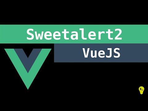 Como utilizar o vue-sweetalert2