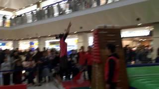 2018年12月9日「ジャンピングMAX2018決勝大会」 兵庫県加古川市ニッケパークタウンにて開催 跳び箱日本一決定戦.