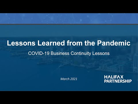 Lessons Learned from the Pandemic
