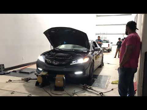 2017 Accord Coupe V6 Dyno Pull