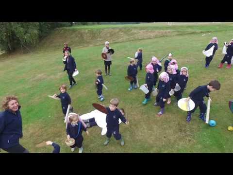 Vinehall Pre-Prep Re-enact The Battle of Hastings