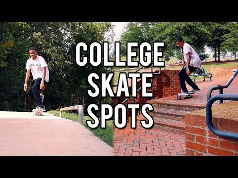 Finding Skate Spots On My College Campus