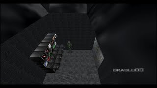 GoldenEye 007 N64 - Hill Base - 00 Agent (Custom level)