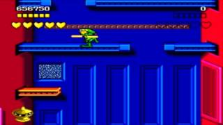 [Sega Genesis] - Battletoads - Level 8 - Intruder Excluder