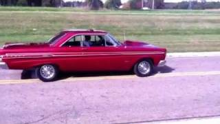 1964 Mercury Coment Caliente burnout