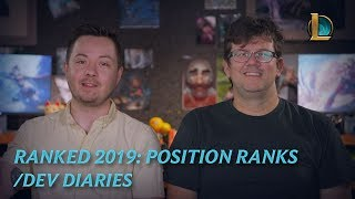 Ranked 2019: Position Ranks | /dev diary - League of Legends