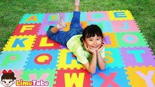 라임의 퍼즐매트 숨바꼭질 놀이 ABC Song Nursery Rhymes تعليم الأطفال بأغنية الأطفال Lagu Anak anak