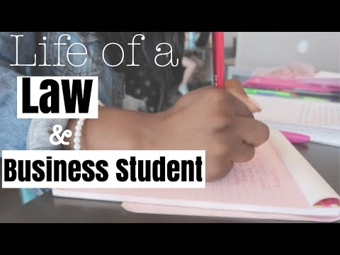 Law School/MBA VLOG| Life of a Law & Business Student