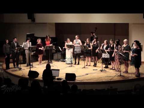 "Spectrum Music: Christine Duncan's Vocal Jazz Ensemble - ""Gravitationally Bound Fusion Reactor"""