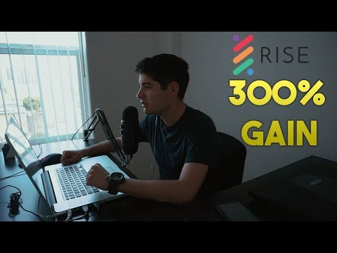 Cryptocurrency Markets Green, Rise Exploding 300%, Bitcoin 5k Soon?