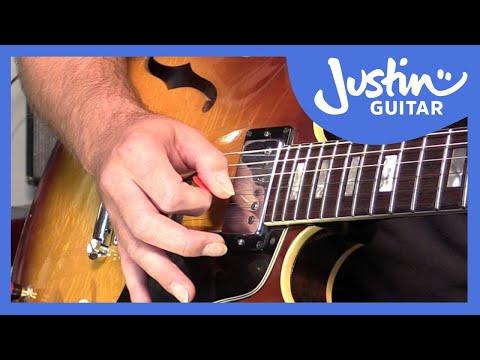 Blues Lick: T-Bone Walker Style (Guitar Lesson BL-511)