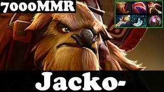 Dota 2 - Jacko- 7000 MMR Plays Earthshaker - Pub Match Gameplay