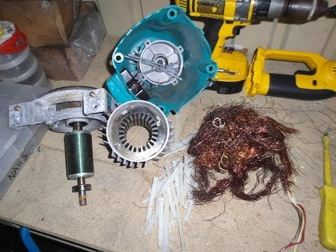 scrapping AC Electric Motor for maximum $ value (no waste- no grinding)