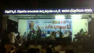 Christian telugu songs:yuga yuga yugamulaku,organised by symphony music ministries,india.sponcer thi