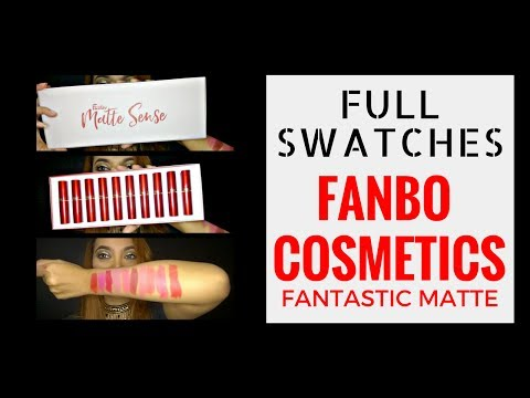 lip-swatches-#8-:-fanbo-fantastic-matte-lipstick-(all-shades)-||-judith-cholya