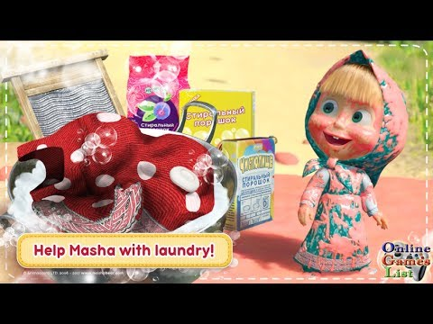 Masha And The Bear: House Cleaning Games For Girls Gameplay (Android)
