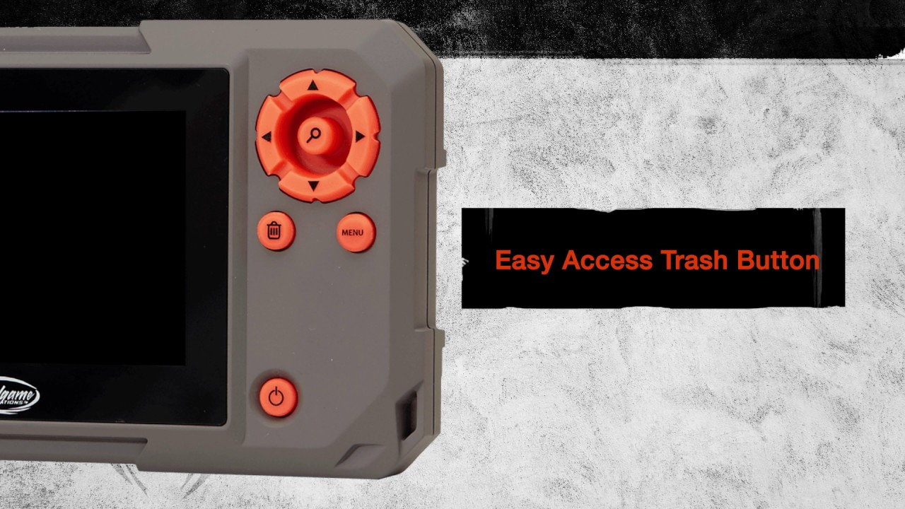 Wildgame Innovations Trail Pad Touch Screen Swipe SD Card Reader