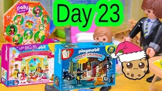 Polly Pocket, Playmobil Holiday Christmas Advent Calendar Day 23 Toy Surprise Opening Video